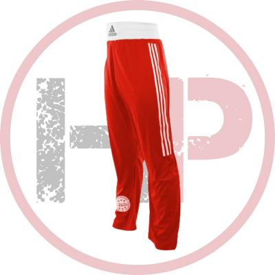 Брюки для кикбоксинга Adidas WAKO Full Contact Pants Punch Line